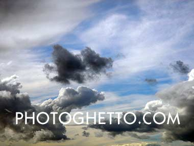 Light Rain Clouds Photo Image