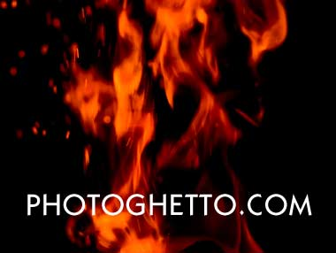 Blazing Fire Photo Image