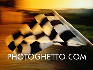 Chequered Flag Photo Image